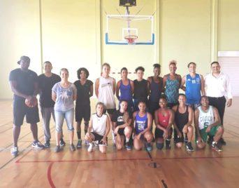 JIOI : Basket-Ball : Regroupement pré-Sélection féminine