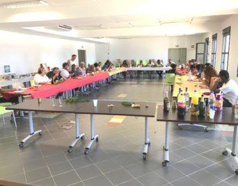 Repas partage de fin d'année à la Maison Régionale des Sports