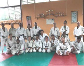 JIOI : Judo : premier regroupement à Salazie
