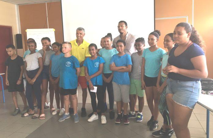 Semaine Olympique et Paralympique au collège Les Tamarins