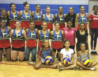 JIOI 2019 : la sélection féminine de Volley se prépare