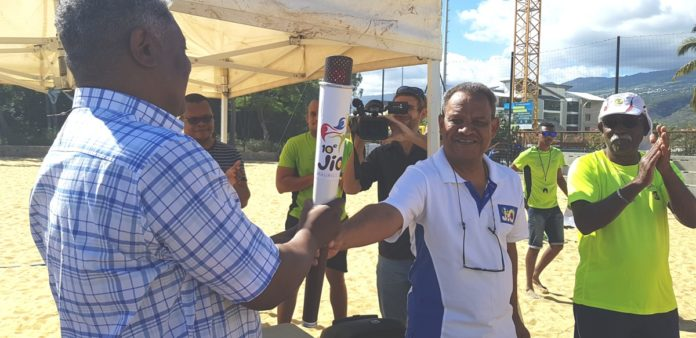 La Flamme des Jeux remise au CROS de Mayotte ce samedi 15 juin