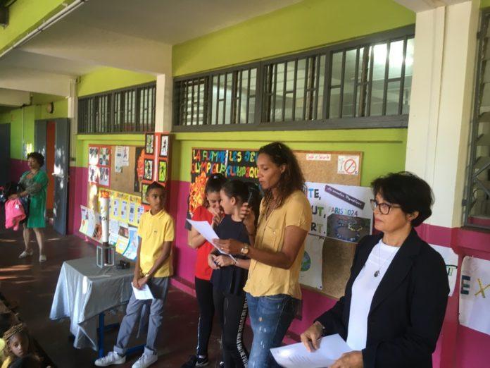 JIOI 2019 : la Flamme à l'Ecole Raymond Mondon ce lundi 1er juillet