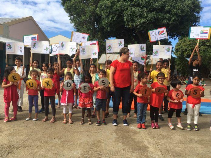 JIOI 2019 : la Flamme à l'École Notre Dame de la Paix le 2 juillet