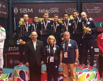JIOI 2019 : l'équipe Garçons en OR en Tennis de Table le 21 juillet