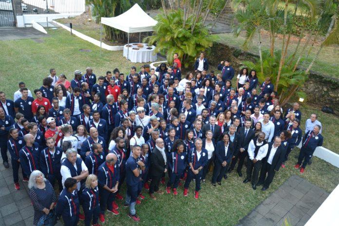 JIOI 2019 : dernier regroupement du Club Réunion à la Préfecture