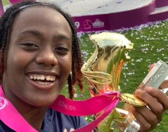 Melvine Malard Championne d'Europe