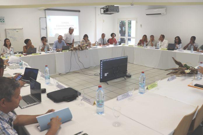 Conseil d'Administration du CREPS le 25 novembre