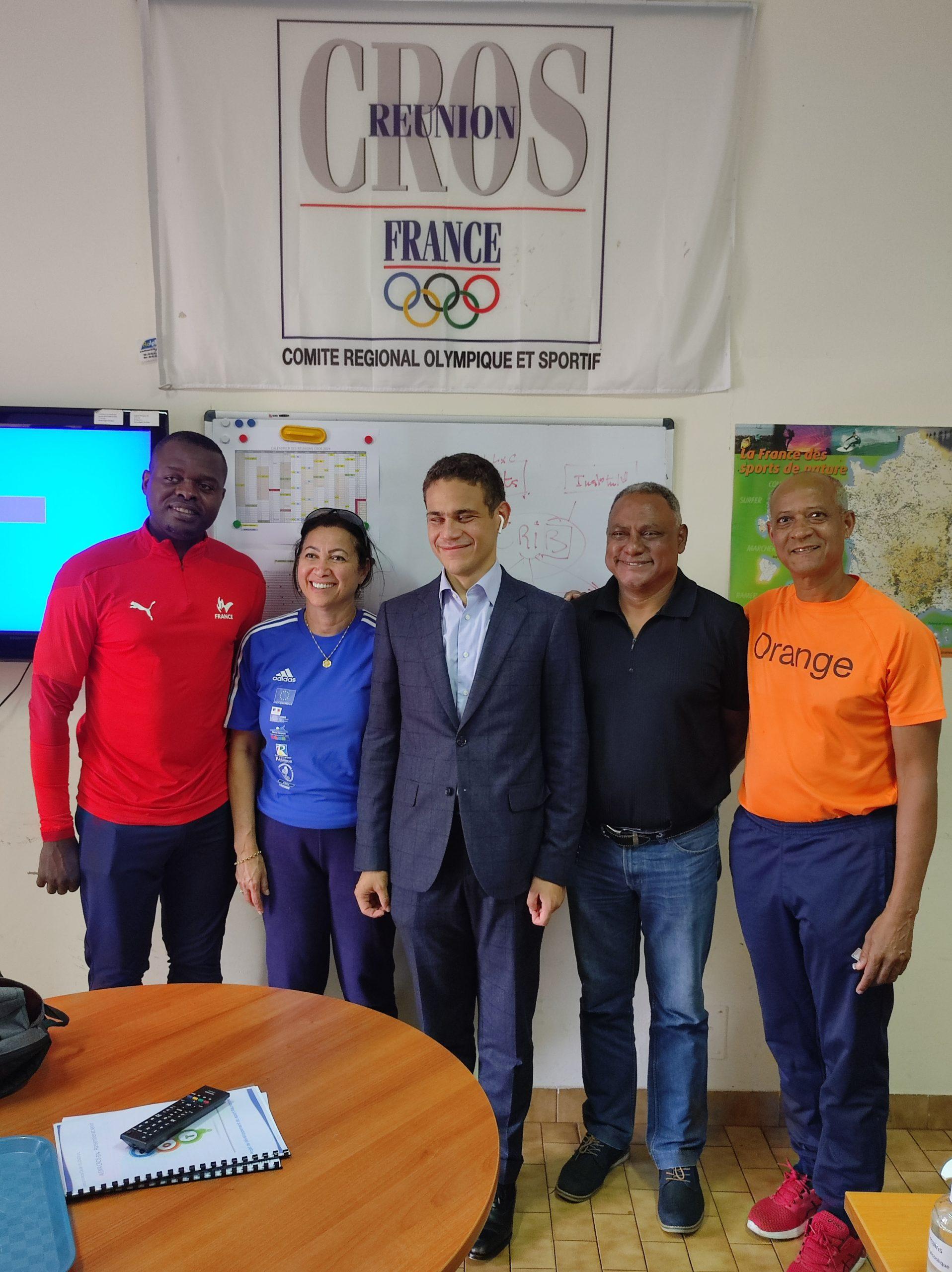 Gaël Rivière, Réunionnais sélectionné pour les Jeux Paralympiques à Tokyo 2021, de Charly Simo, Responsable de la comission Sport Déficient Visuel au CROS La Réunion